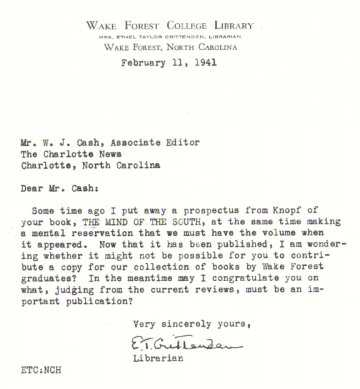 Poor Cash Was Both Honored And Besieged By Requests Such As This  Well Meaning One From His Alma Mater Requesting A Donation Of A Copy Of His  Book.  Money Receipt Letter